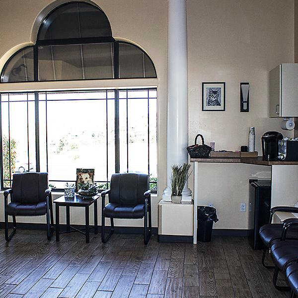 Prescott Area Pet Emergency Hospital waiting room